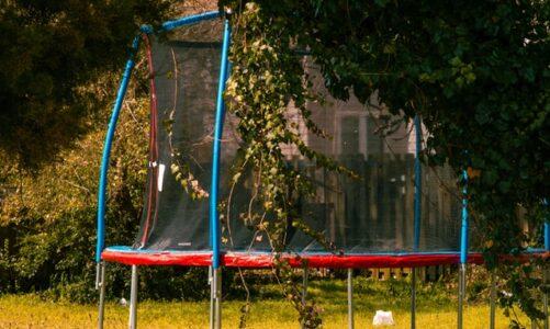 Een veilige trampoline voor in uw tuin